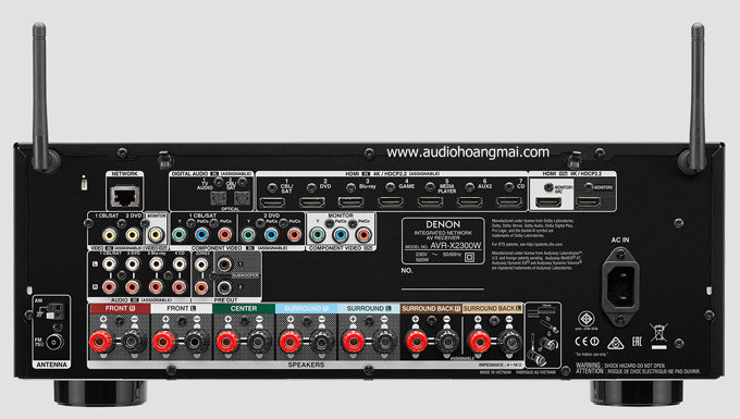 Denon AVR X2300W - 197423