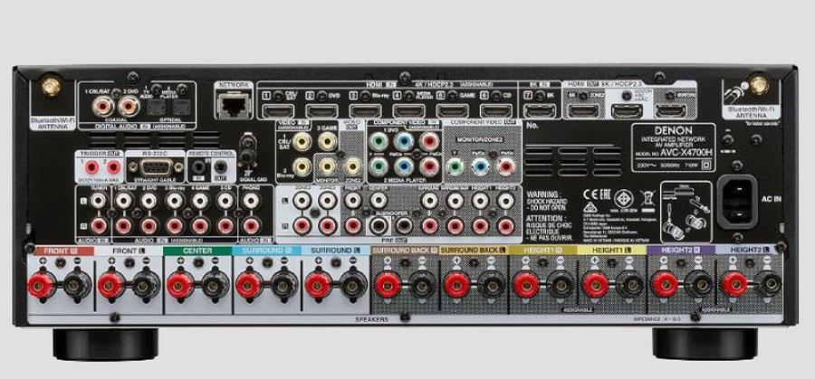 Ampli Denon AVC x4700H