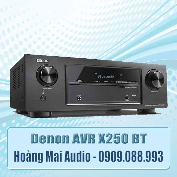 Ampli Denon AVR x250 BT