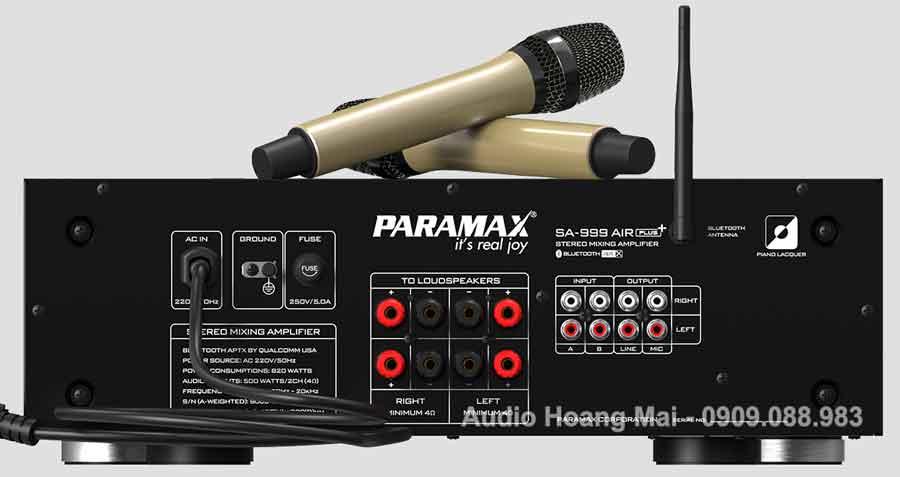 Amply Paramax 999 Air Plus