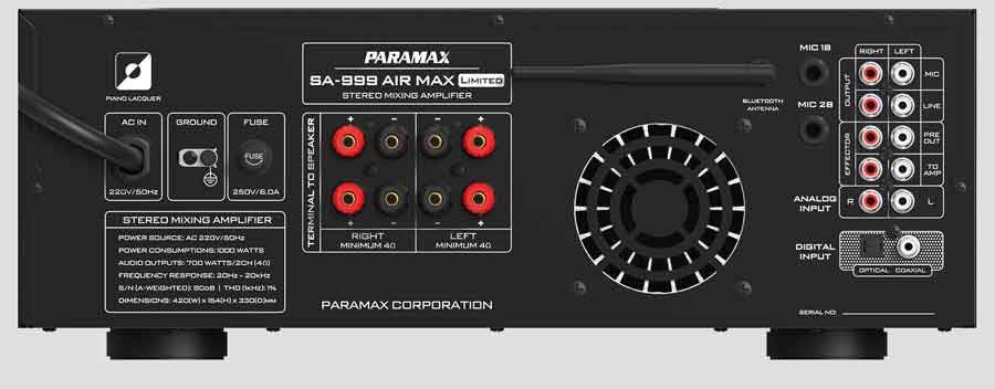 Amply Paramax SA 999 Air Max Limited