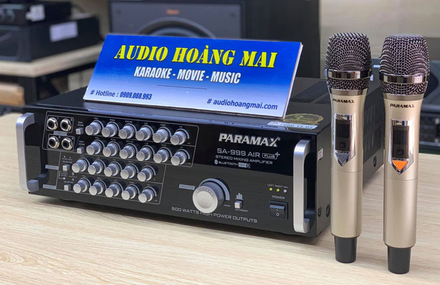 Amply Paramax SA 999 Air Plus Vượt Mọi Giới Hạn