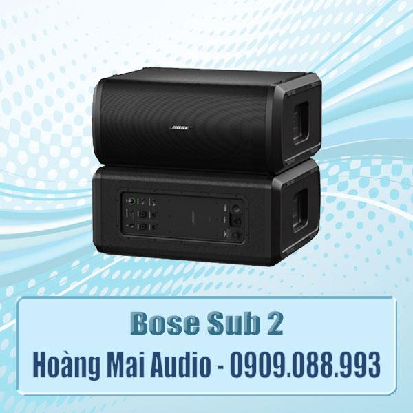 Bose Sub 2 Bass