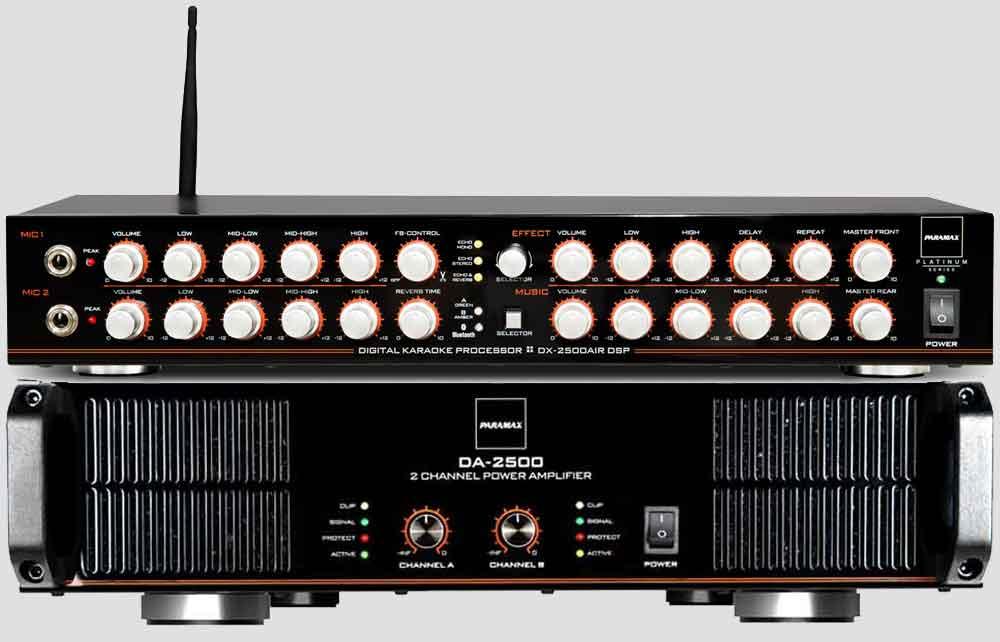 Combo Paramax DX 2500 - DA 2500