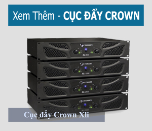 Cục đẩy công suất Crown KVS 700