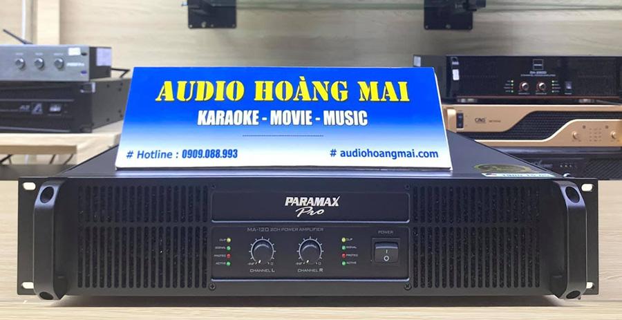 Cục đẩy Paramax Pro MA 120