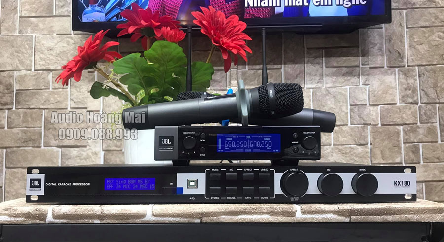 Dàn karaoke cao cấp JBL HM403