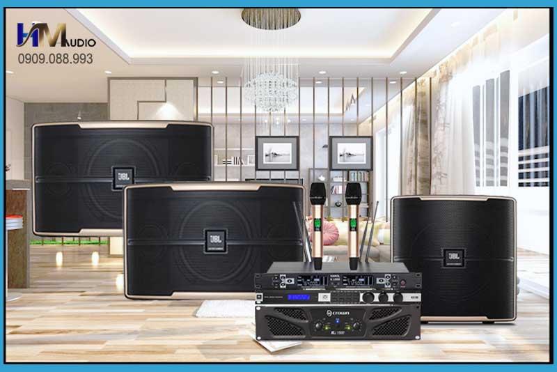 Dàn karaoke JBL Crown 465
