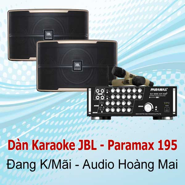 Dàn Karaoke JBL - Paramax 195