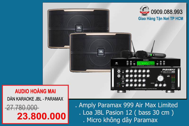 Dàn Karaoke JBL - Paramax 238