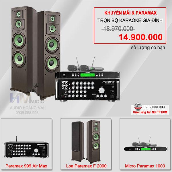 Dàn Karaoke Paramax 019