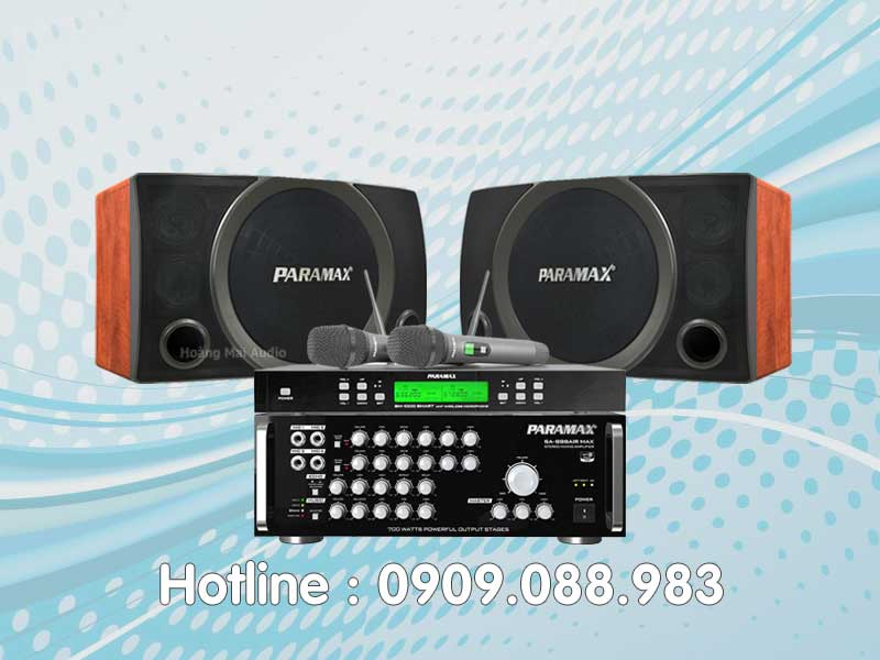 Dàn Karaoke Paramax 020