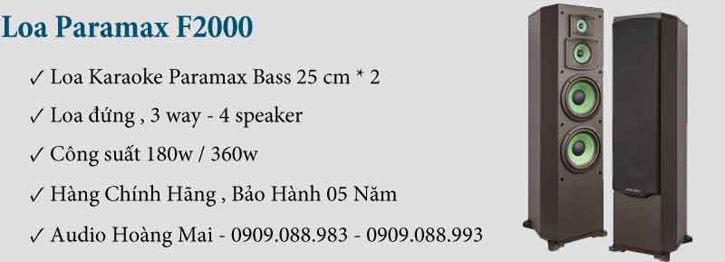 Dàn Karaoke Paramax 149
