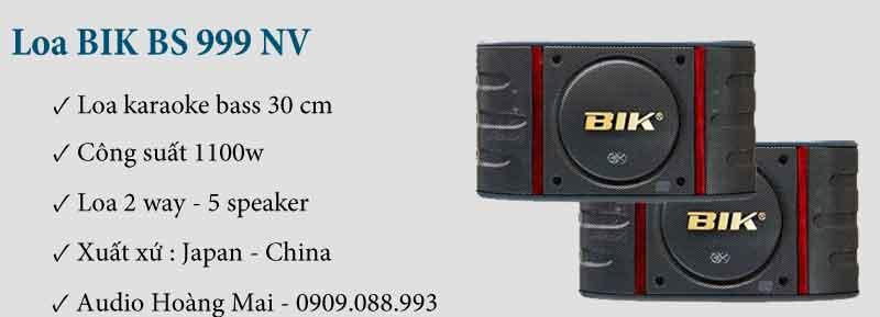 Loa BIK 999 NV
