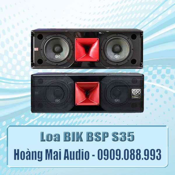 Loa BIK s35