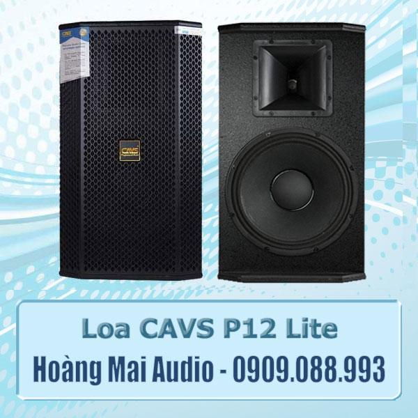 Loa Full CAVS P12 Lite