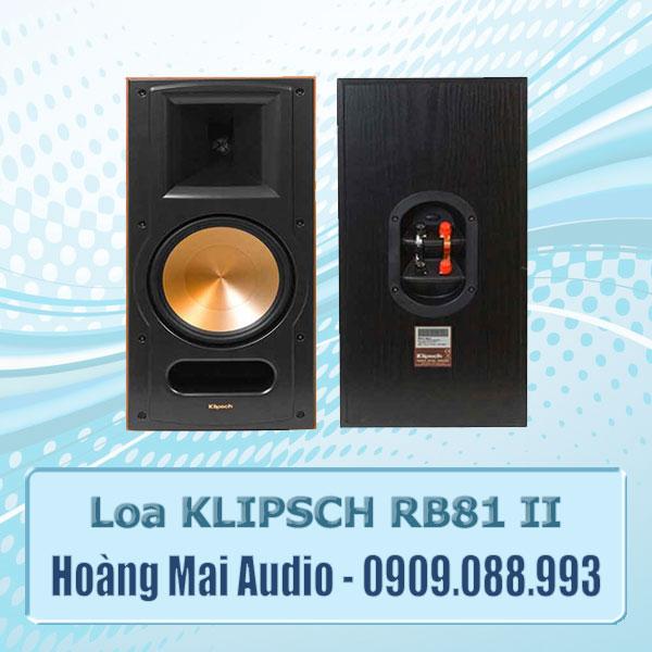 Loa Klipsch RB81 II