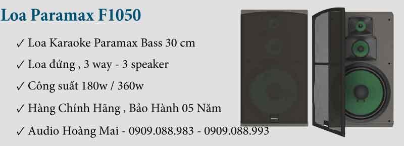 Loa Paramax F1050 New
