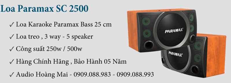 Loa Paramax SC 2500