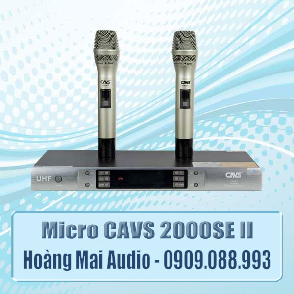 Micro CAVS 2000SE II