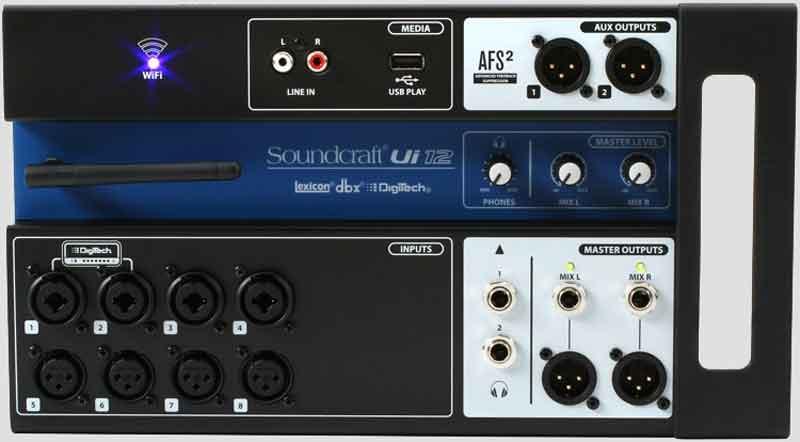Mixer SoundCraft Ui2
