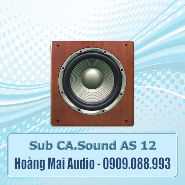 Sub CASound AS12