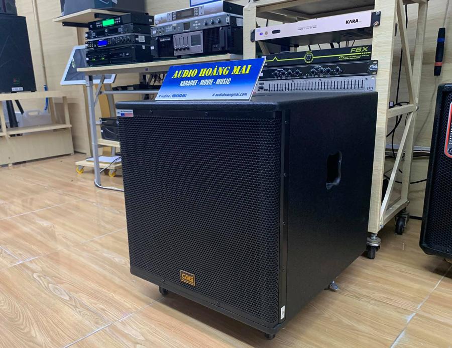 Sub điện CAVS 715 ( bass 40 cm )