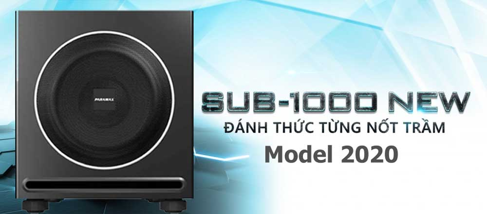 Sub Paramax 1000 New