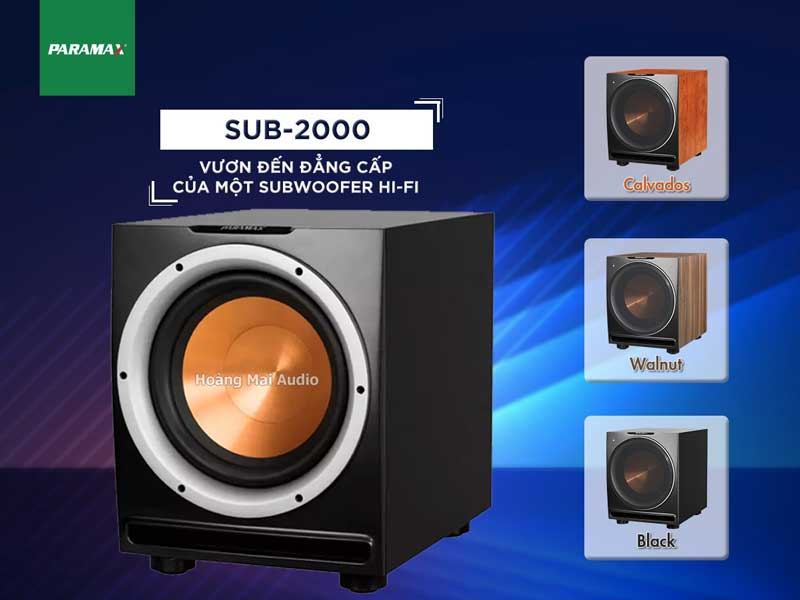 Sub Paramax 2000 New