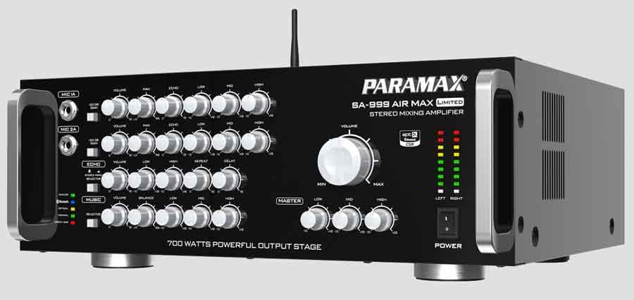 Tổng Hợp Amply Paramax