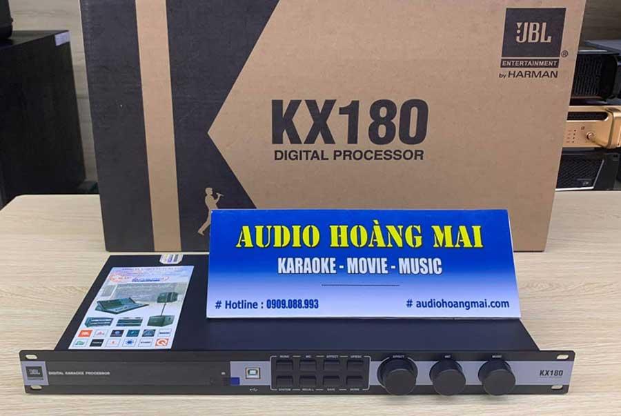 Tổng quan về vang số JBL KX180 hàng chính hãng , phần mềm chỉnh vang số kx180