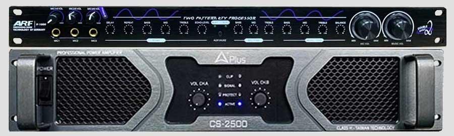 Vang cơ ARF V1000 , Cục đẩy CASound 2500