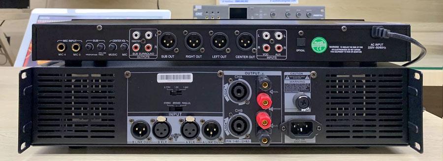 Vang cơ Aurec V8 , Cục đẩy Aurec 800