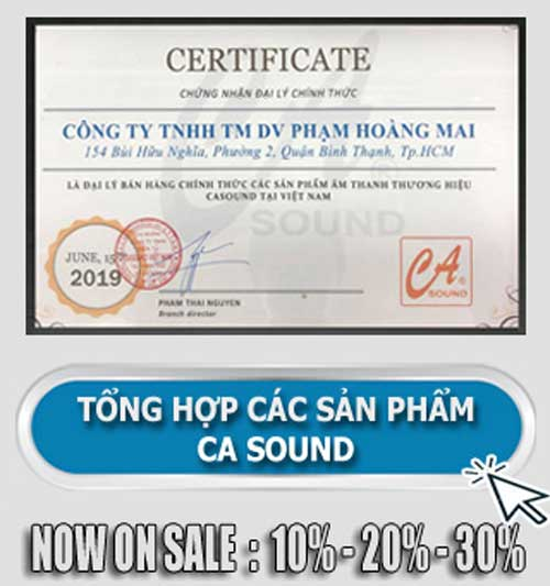 Vang cơ CA Sound MN200