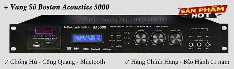 Vang số Boston  Acoustics BA 5000