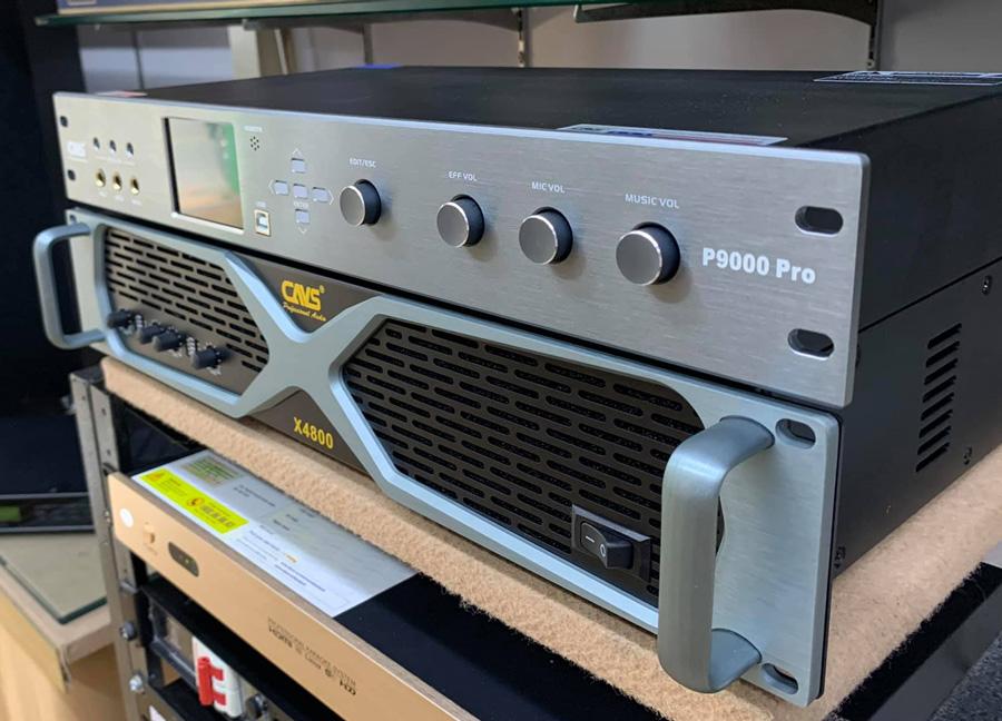 Vang số CAVS P9000 Pro , đẩy CAVS x4800