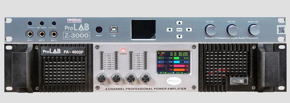Vang số ProLAB z3000 , cục đẩy ProLAB 4800P