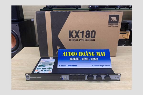 Tổng quan về vang số JBL KX180 , phân biệt hàng chính hãng , phần mềm chỉnh vang số  jbl kx180