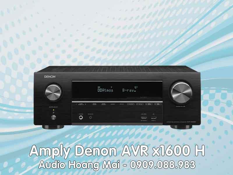 Amply Denon AVR x1600H