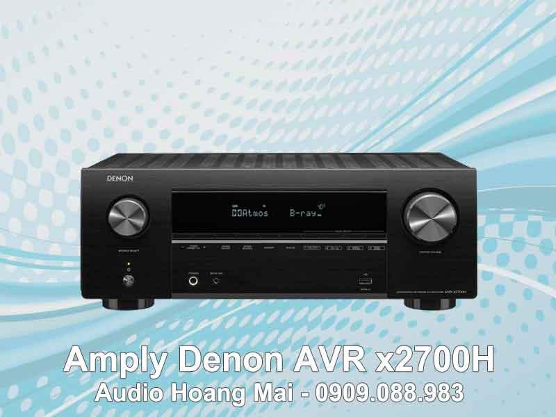Amply Denon AVR x2700H