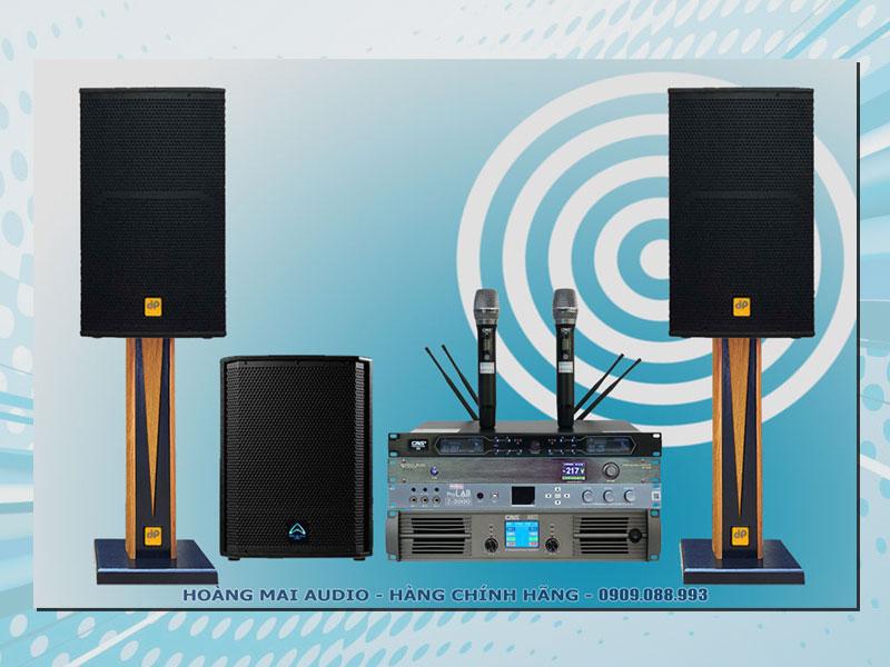 Dàn karaoke cao cấp HM754