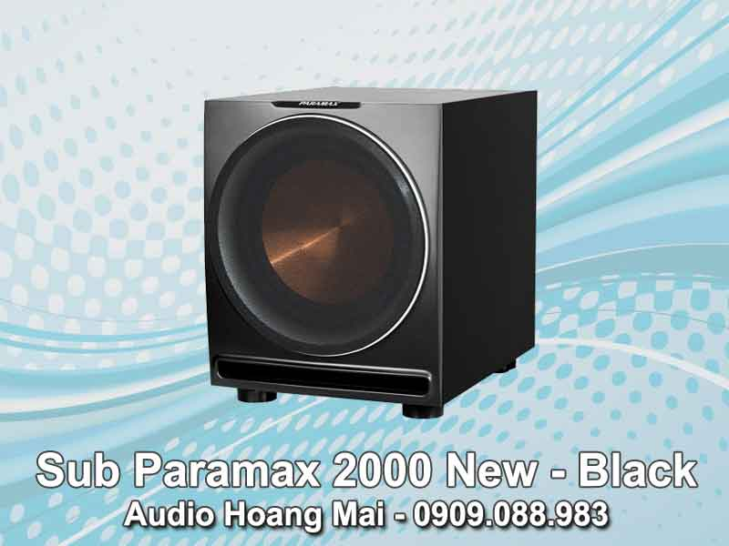 Sub Paramax 2000 New - Black
