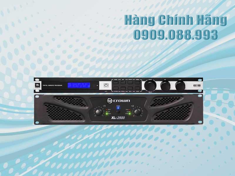 Vang Số JBL KX180 - Crown Xli 2500