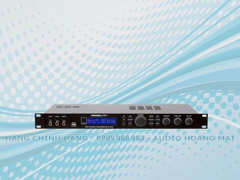 Vang số Paramax Pro MX 220
