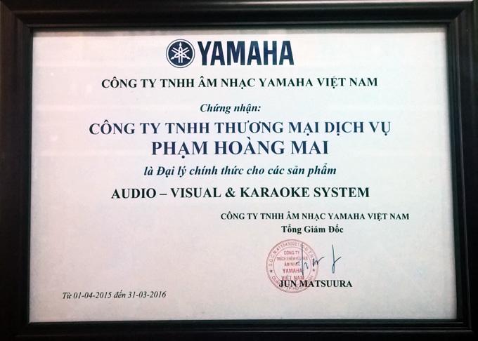 audio Hoàng Mai là đại lý Yamaha